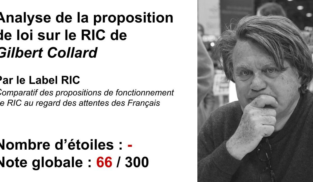 Analyse du RIC de Gilbert Collard